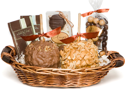 Gourmet Two Apple Holiday Gift Basket