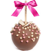 Butterfly Pearls Caramel Apple w/ Milk Belgian Chocolate