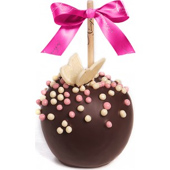 Butterfly Pearls Caramel Apple w/ Dark Belgian Chocolate