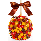 Fall M and M Caramel Apple