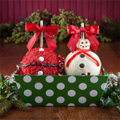 Two Apple Holiday Gift Tray