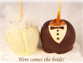 Bride & Groom Wedding Apples