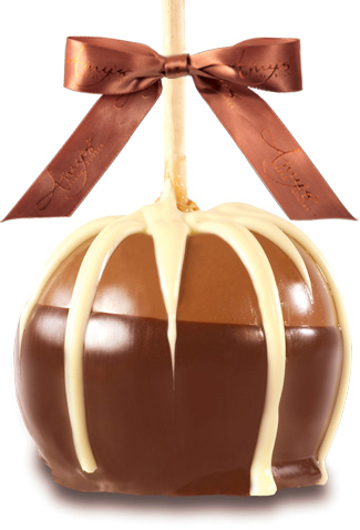 Ultimate Dunked Caramel Apple W/Belgian Chocolate