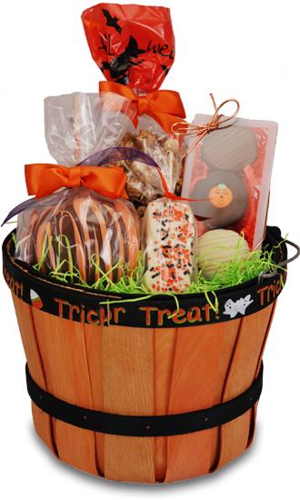 Halloween gift basket gourmet halloween basket negle Gallery