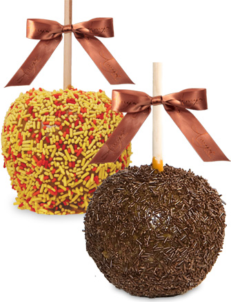Sprinkle Mix Caramel Apples