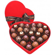 24 Truffle Heart Box