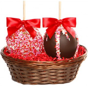 Sweetheart Apple Basket