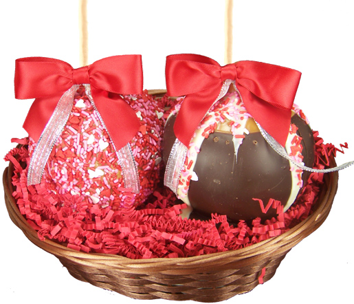 Chocolate Cashew Turtles Dunmore Candy Kitchen: Two Apple Sweetheart Gourmet Gift Basket