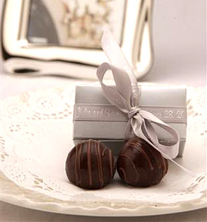 Wedding Favors Chocolate Truffles Tbrbinfo